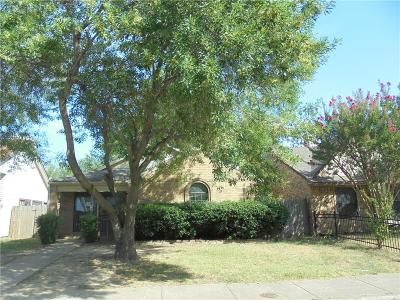 Dallas Single Family Home Active Option Contract: 10612 Woodleaf Drive