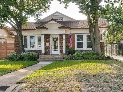 Dallas Single Family Home Active Option Contract: 630 N Rosemont Avenue