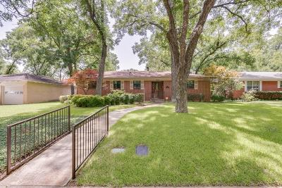 Arlington Single Family Home For Sale: 1604 W Lovers Lane