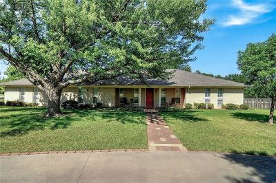 Sherman Single Family Home For Sale: 1802 Carriage Estates Road