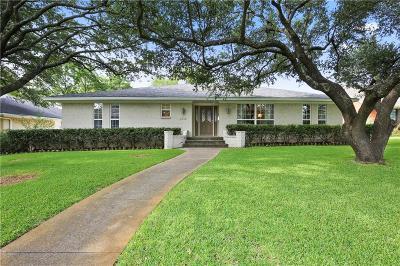 Dallas Single Family Home For Sale: 6414 Mercedes Avenue