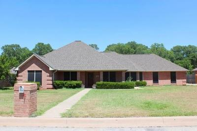 Weatherford Single Family Home Active Option Contract: 1709 N Roberts Bend N