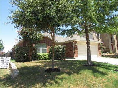 Fort Worth Single Family Home For Sale: 1025 Salt Creek Trail