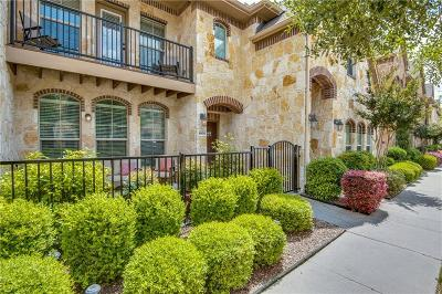 Mckinney Townhouse For Sale: 8605 Papa Trail