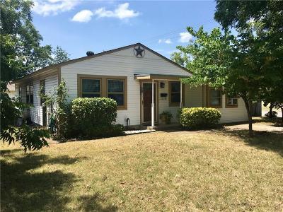Dallas Single Family Home For Sale: 2702 Millmar Drive