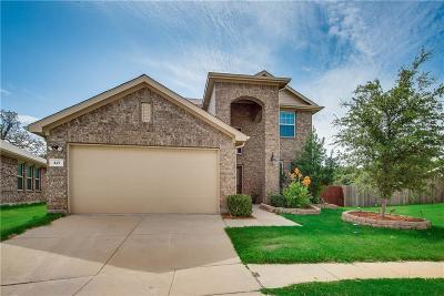 Aubrey Single Family Home For Sale: 421 Brahma Street