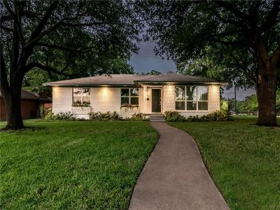 Dallas Single Family Home For Sale: 2548 Delmac Drive