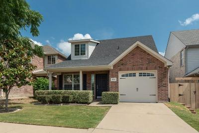 Wylie Single Family Home Active Option Contract: 606 Dielman Drive