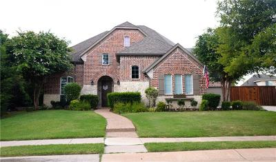 Prosper Single Family Home For Sale: 840 High Willow Drive