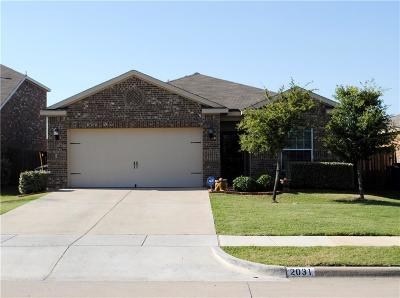 Forney Single Family Home For Sale: 2031 Cone Flower Drive