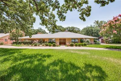 Irving Single Family Home Active Option Contract: 3516 Gentry Road