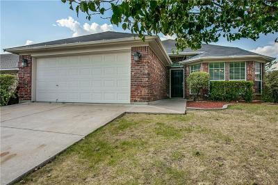Fort Worth Single Family Home Active Option Contract: 3513 Princess Victoria Court