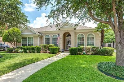 Keller Single Family Home Active Option Contract: 1619 Creekridge Drive