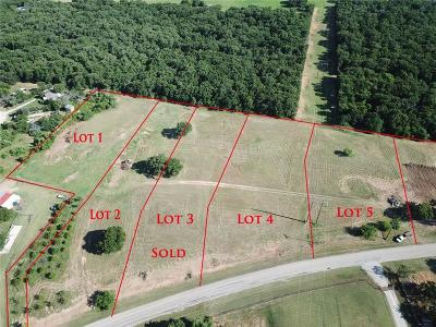 Springtown Residential Lots & Land For Sale: 2307 J E Woody Road