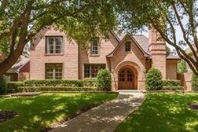 Plano Single Family Home Active Option Contract: 5965 Kensington Drive
