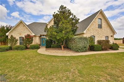Abilene Single Family Home For Sale: 249 Idle Creek Trail