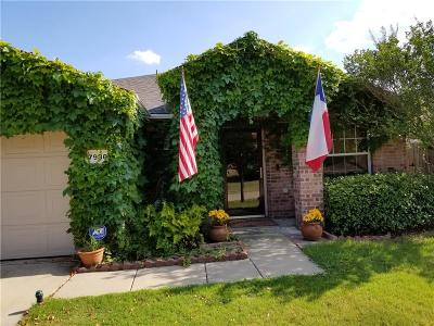 Fort Worth Single Family Home For Sale: 7936 Meadow Spring Lane