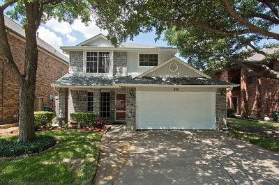 Coppell Single Family Home For Sale: 820 Woodlake Drive