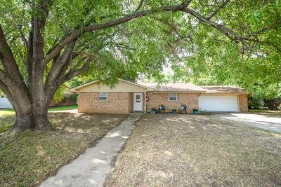 Stephenville Single Family Home Active Option Contract: 1480 W Park Street
