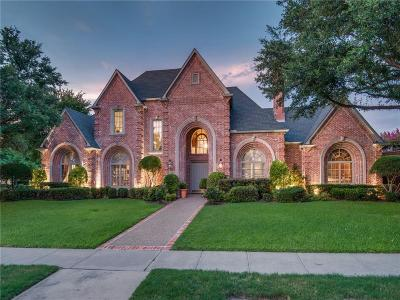 Plano TX Single Family Home For Sale: $1,400,000