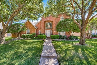 Frisco Single Family Home Active Option Contract: 10317 Megan Court