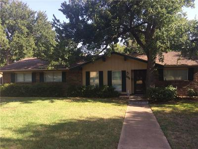 Euless Single Family Home Active Option Contract: 506 Atkerson Lane