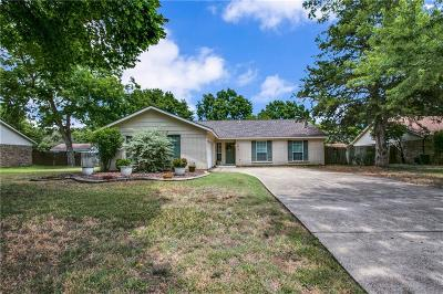 Flower Mound Single Family Home Active Option Contract: 1912 Buckeye Drive