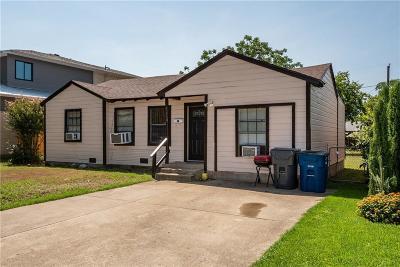 Dallas County Single Family Home For Sale: 4610 Newmore Avenue