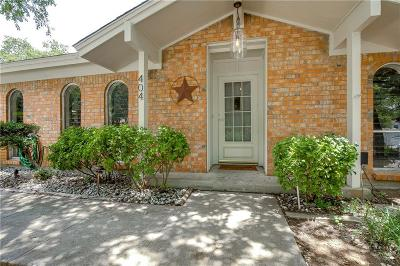 Hurst Single Family Home Active Option Contract: 404 Hill Court