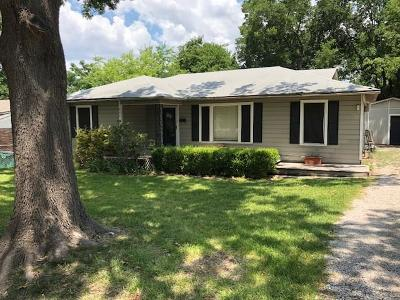 Mckinney Single Family Home For Sale: 806 Griffin Street