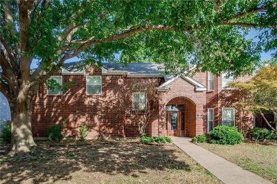 Allen Single Family Home Active Contingent: 1004 Charter Oak Street