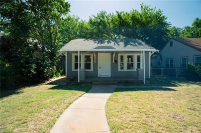 Haltom City Single Family Home For Sale: 1320 Clarence Street