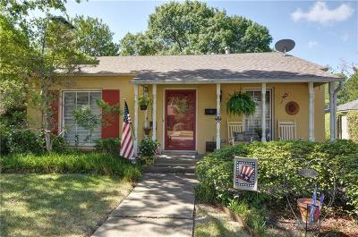 Highland Park, University Park Single Family Home For Sale: 4673 Southern Avenue
