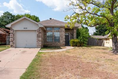 Single Family Home Active Option Contract: 6616 Roxanne Way