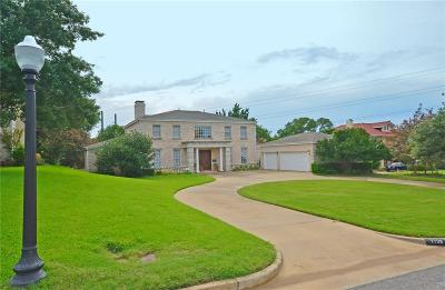Fort Worth Single Family Home For Sale: 1126 Mistletoe Drive