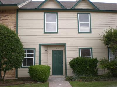 Garland Townhouse For Sale: 3620 Clubview Drive