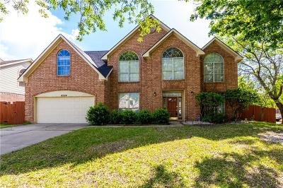 Grand Prairie Single Family Home For Sale: 4524 Rosedale Drive
