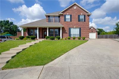 North Richland Hills Single Family Home Active Option Contract: 7800 Vineyard Court