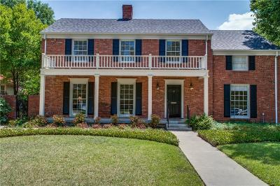 Greenway Park, Greenway Parks, Greenway Parks Add Single Family Home For Sale: 5434 W University Boulevard
