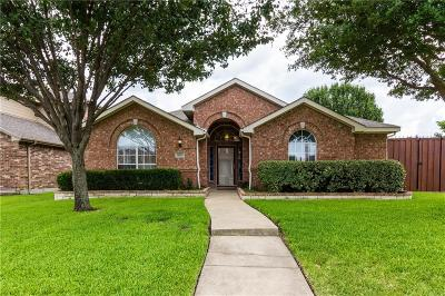 Mesquite Single Family Home Active Option Contract: 3312 Stream Side Court