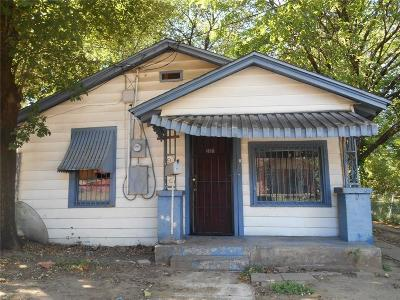Dallas Single Family Home Active Option Contract: 2301 Dathe Street