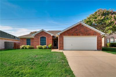 Grand Prairie Single Family Home Active Contingent: 2727 Garden Grove Road