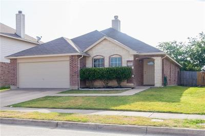 Fort Worth Single Family Home Active Option Contract: 12916 Cedar Hollow Drive
