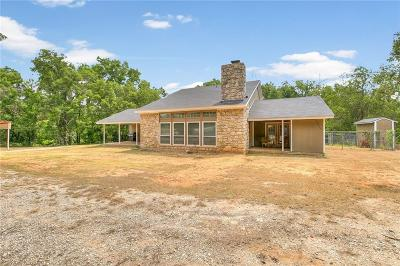 Poolville Single Family Home For Sale: 6180 N Zion Hill Road