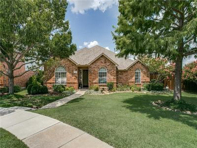 Frisco Single Family Home Active Option Contract: 7600 Red Clover Drive
