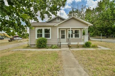 Stephenville Single Family Home For Sale: 105 S Lennox Street