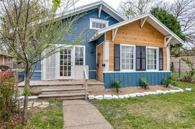 Dallas Single Family Home For Sale: 211 W Pembroke Avenue