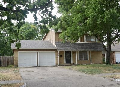 Garland Single Family Home Active Option Contract: 3617 Crestview Drive
