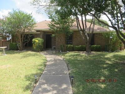 Sachse Single Family Home Active Option Contract