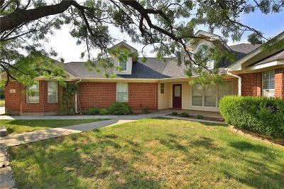 Abilene Single Family Home For Sale: 161 Pack Saddle Pass